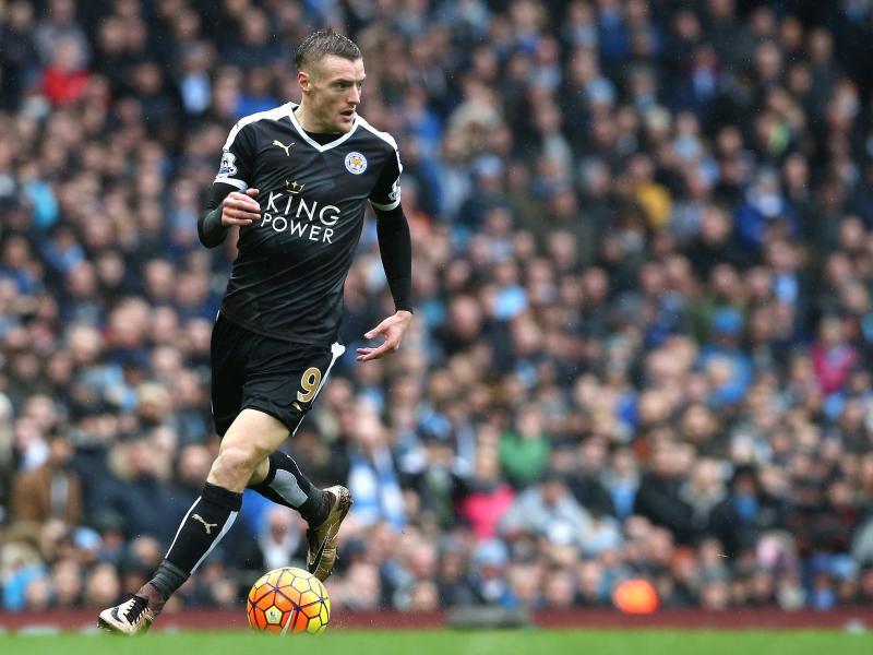 Verlängert seinen Vertrag bei Leicester City: Jamie Vardy