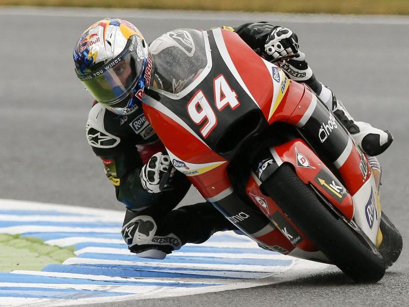 Moto2-Pilot Jonas Folger belegte in Argentinien Platz drei. Foto: Kimimasa Mayama