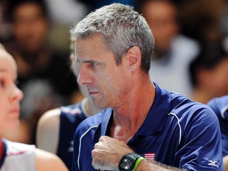 Trainer Charles Kiraly ist in den USA eine Volleyball-Ikone. Foto: Daniel Dal Zennaro
