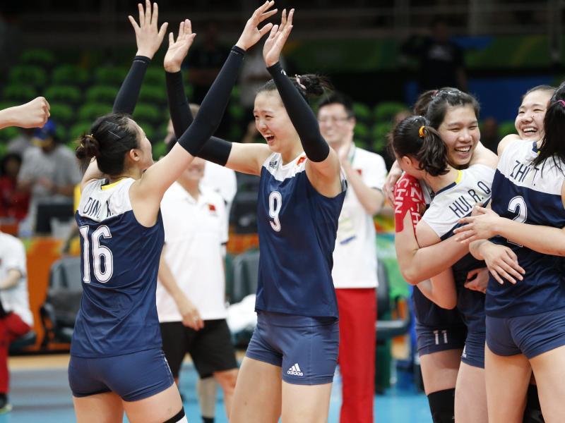 China spielt in Rio um Gold