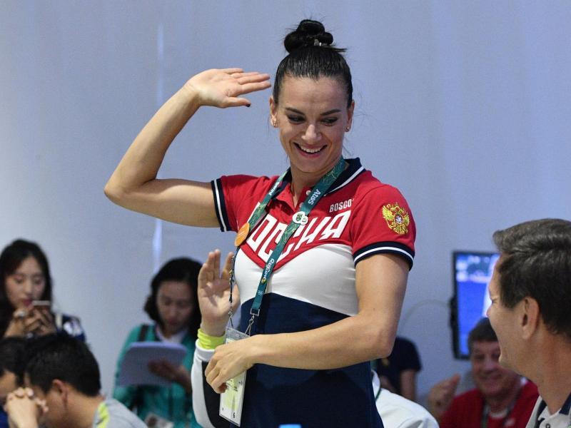 Yelena Isinbayeva liebäugelt mit einer Teilnahme an den Olympischen Spielen 2020 in Tokio