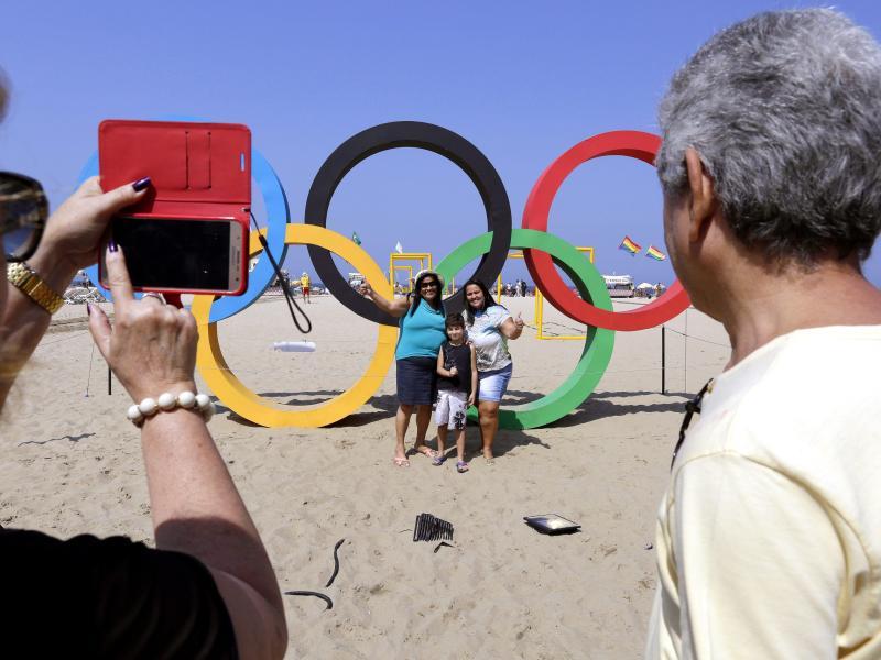 Die Copacabana gehörte für die Touristen zum Pflichtprogramm