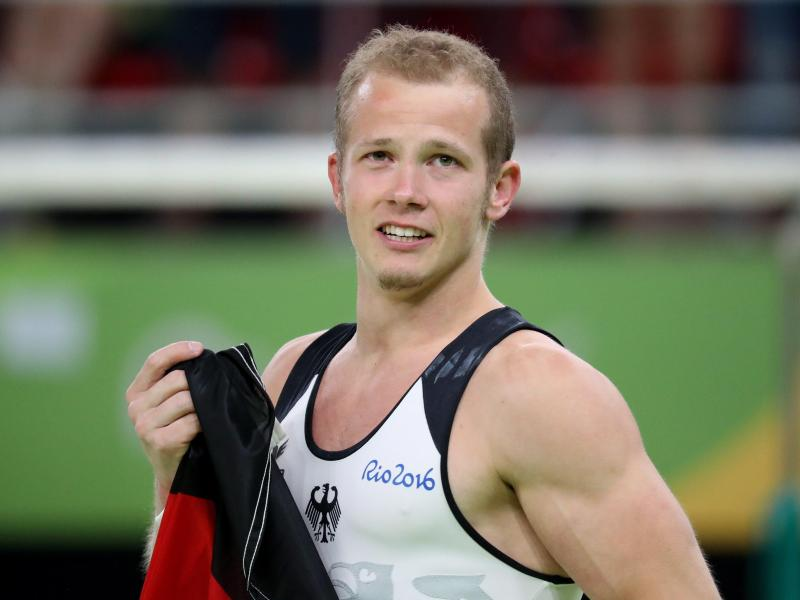 Fabian Hambüchen hat in Rio Gold am Reck gewonnen