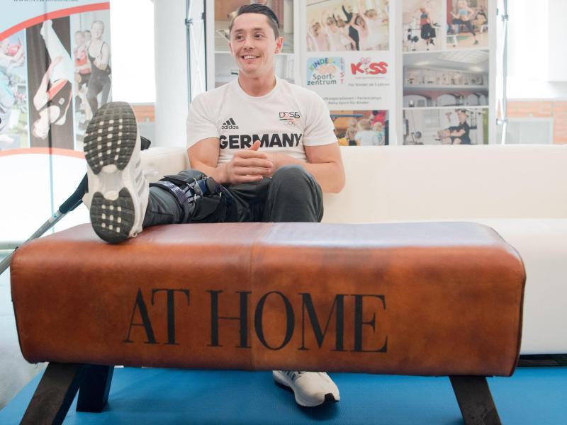 Andreas Toba wird wegen seines Kreuzbandrisses länger pausieren müssen