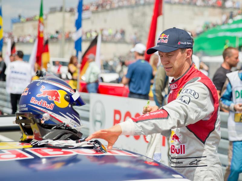 Mattias Ekström fehlt Audi beim DTM-Finale