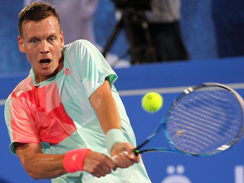 Tomas Berdych hat dem tschechischen Team für die erste Runde des Davis Cups gegen Australien abgesagt