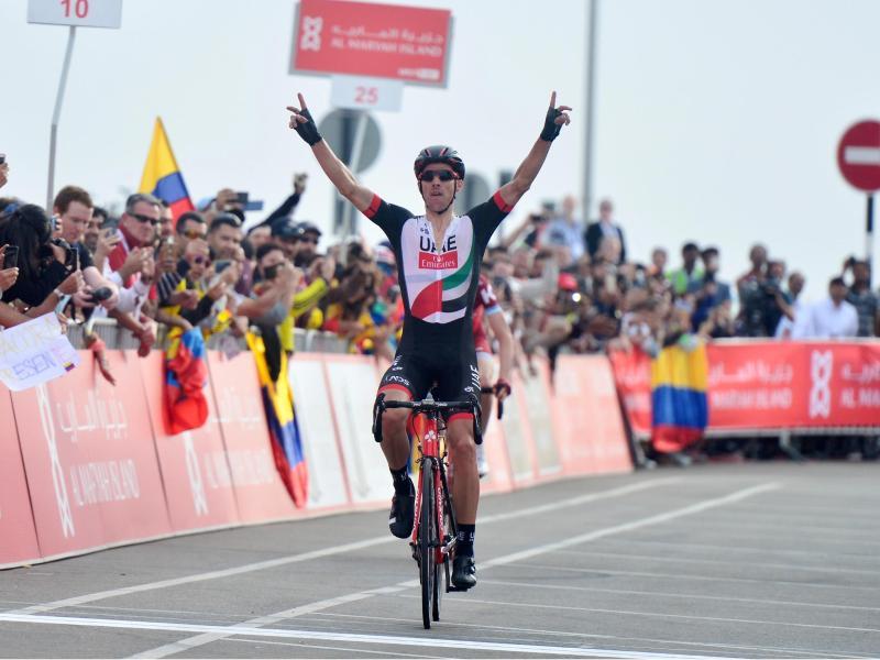 Rui Costa hat die Abu Dhabi-Tour gewonnen