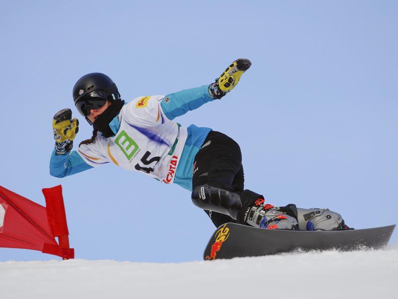 Cheyenne Loch musste sich im Parallel-Slalom mit dem undankbaren vierten Platz zufriedengeben