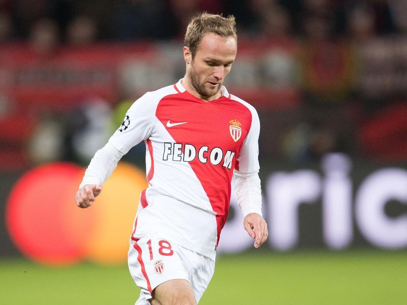 Valère Germain traf doppelt für Monaco. Foto: Marius Becker