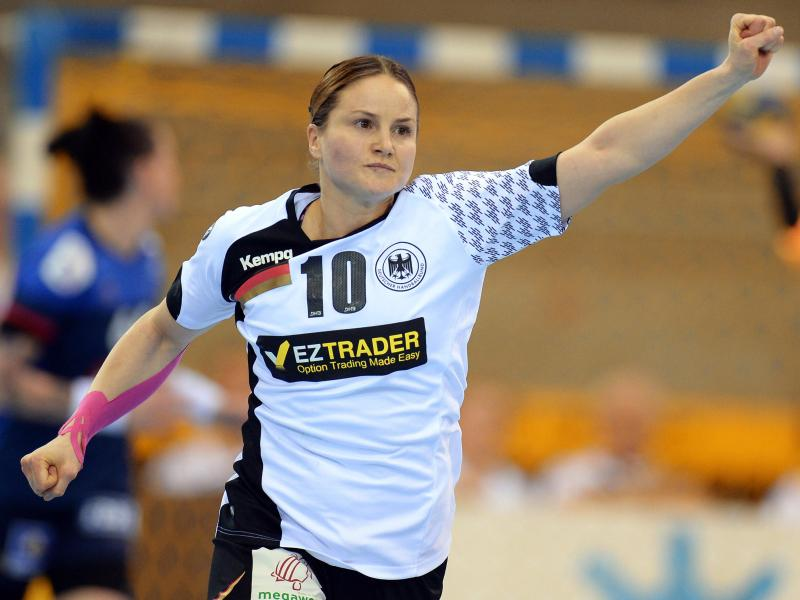 Nationalspielerin Anna Loerper ist der Fixpunkt im Spiel der Metzingerinnen