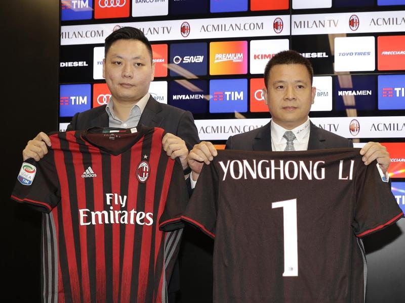 Eine Gruppe chinesischer Investoren ist neuer Besitzer des AC Mailand