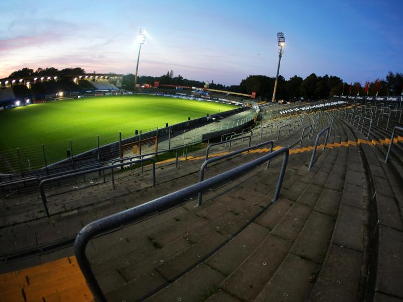 Das Stadion am Böllenfalltor ist akut baufällig