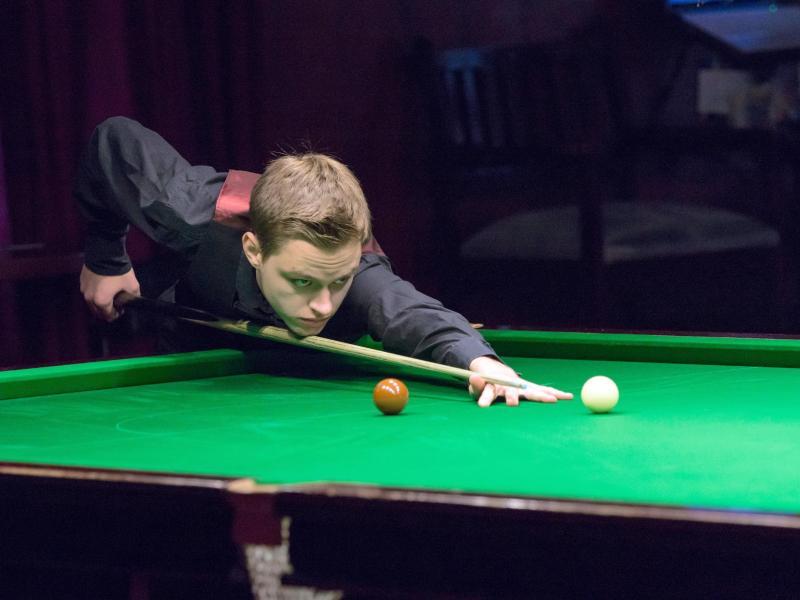 Die deutschen Snooker-Hoffnungen liegen auf Youngster Lukas Kleckers