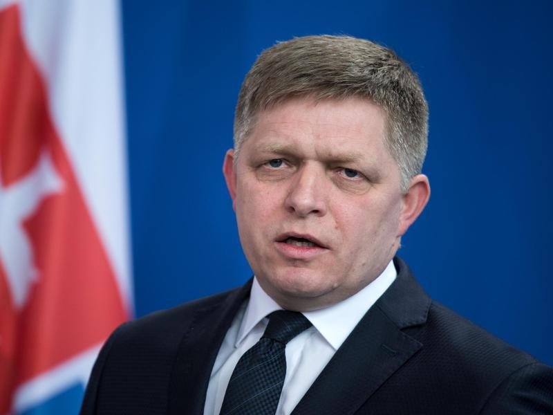 Robert Fico ist der Premierminister der Slowakei