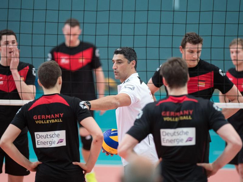 Bitterer Abend für die deutschen Volleyballer