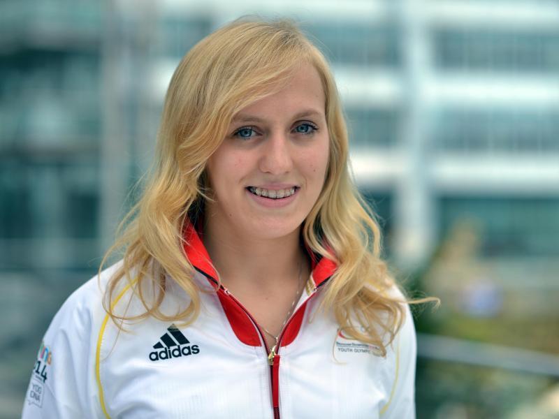 Luise Heim steht bei ihrer WM-Premiere in der zweiten Runde