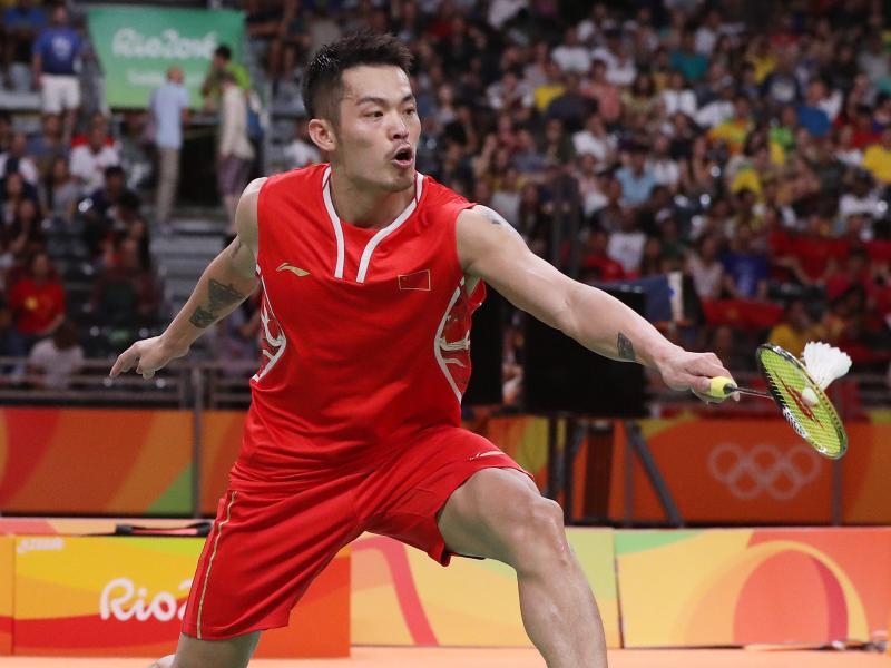Der Chinese Lin Dan steht bei der Badminton-WM in Schottland im Halbfinale