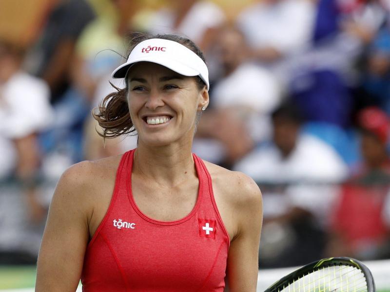 Martina Hingis gewann den Mixed-Titel bei den USOpen mit Jamie Murray