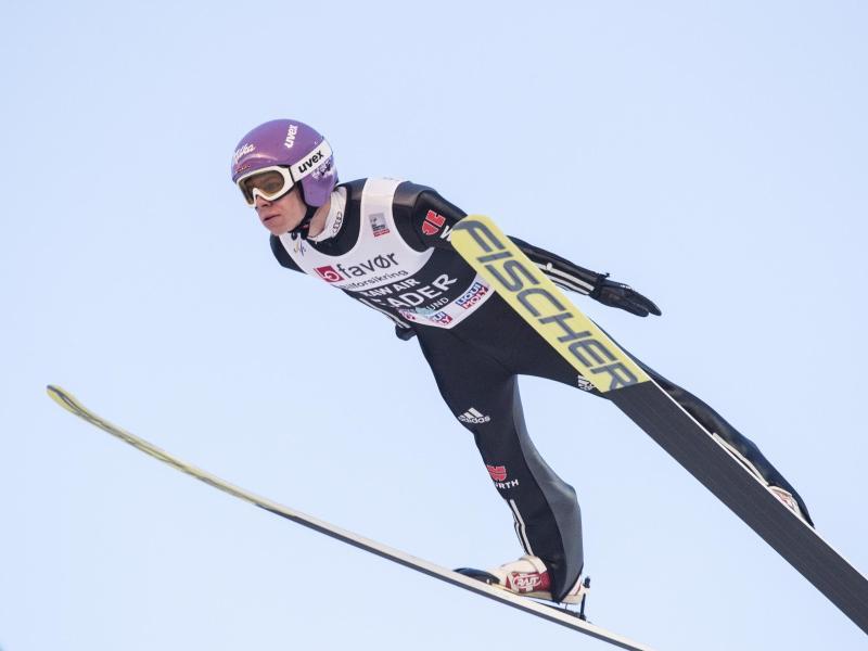 Andreas Wellinger wurde beim Sommer-Grand-Prix-Finale Zweiter
