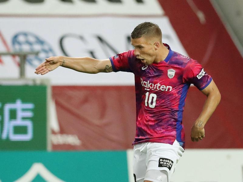 Bleibt mit Vissel Kobe weiter ungeschlagen: Weltmeister Lukas Podolski