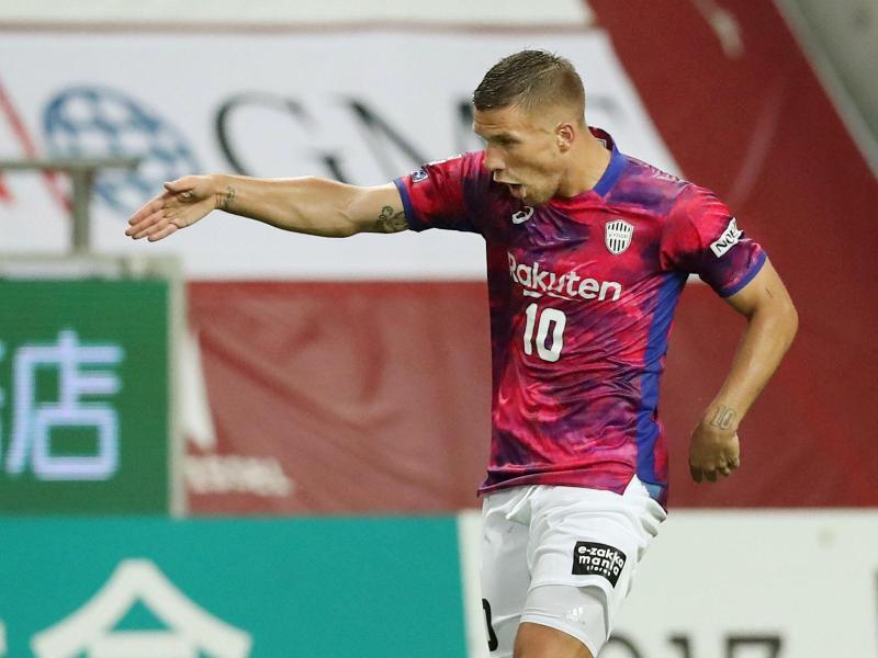 Lukas Podolski steht bei Vissel Kobe unter Vertrag