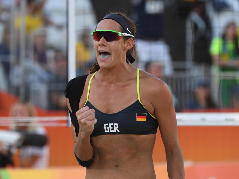 Beachvolleyball-Olympiasiegerin Kira Walkenhorst fällt nach einer Hüft-OP längere Zeit aus