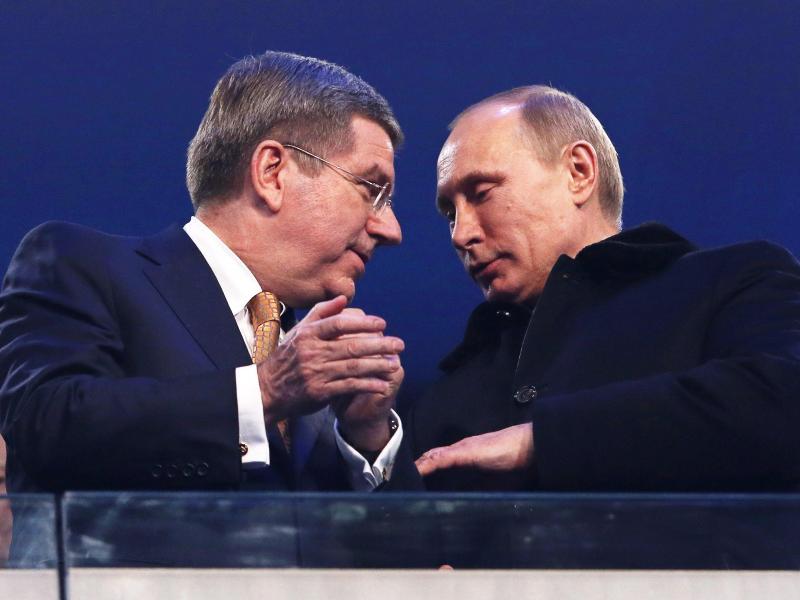 Nach Olympia Ausschluss Putin Noch Ohne Reaktion