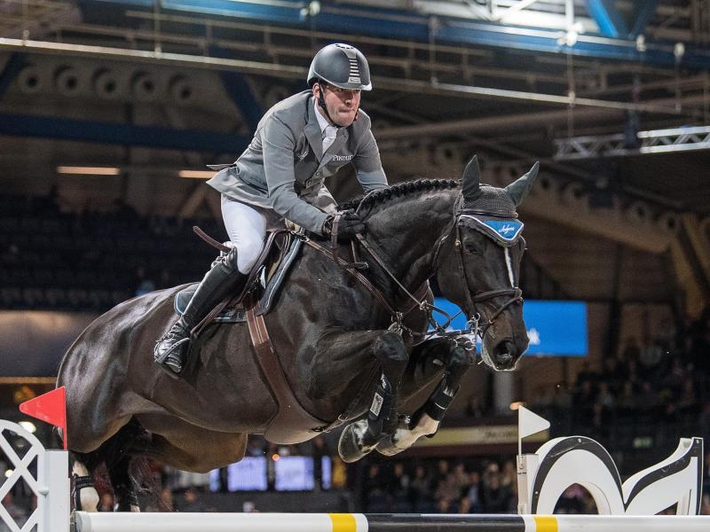Philipp Weishaupt verpasste auf seinem Pferd Asathir die Millionen-Prämie klar