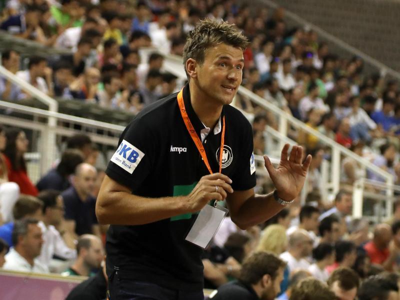 Handball-Bundestrainer Christian Prokop geht zuversichtlich in die EM-Vorbereitung