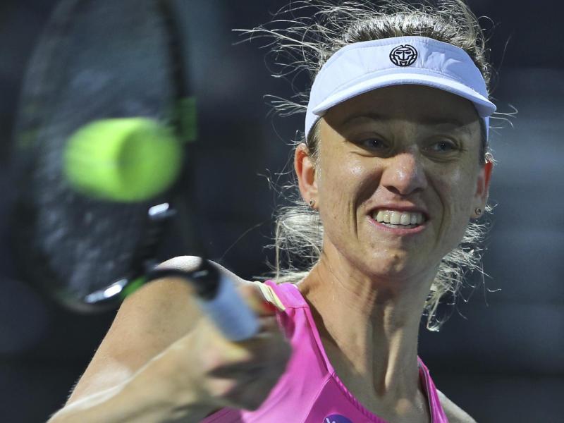 Mona Barthel hat ihr erstes Match im neuen Tennisjahr in Auckland verloren