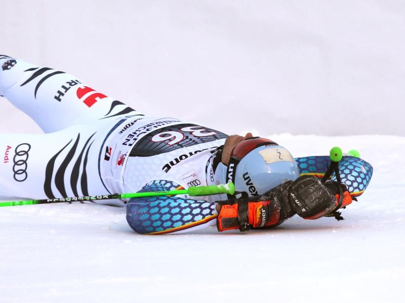 Für Dominik Schwaiger ist die Skisaison bereits früh beendet.
