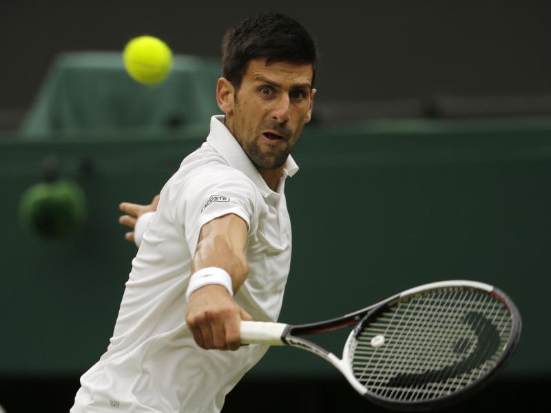 Plant nach seinen Ellenbogenproblemen die Rückkehr auf den Tennisplatz: Novak Djokovic