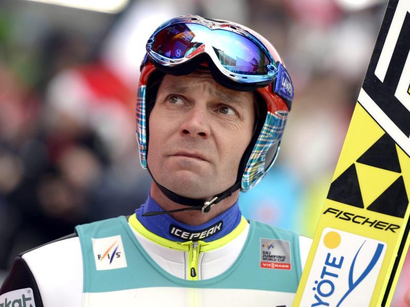 Janne Ahonen kehrt mit 40 Jahren in den Skisprung-Weltcup zurück
