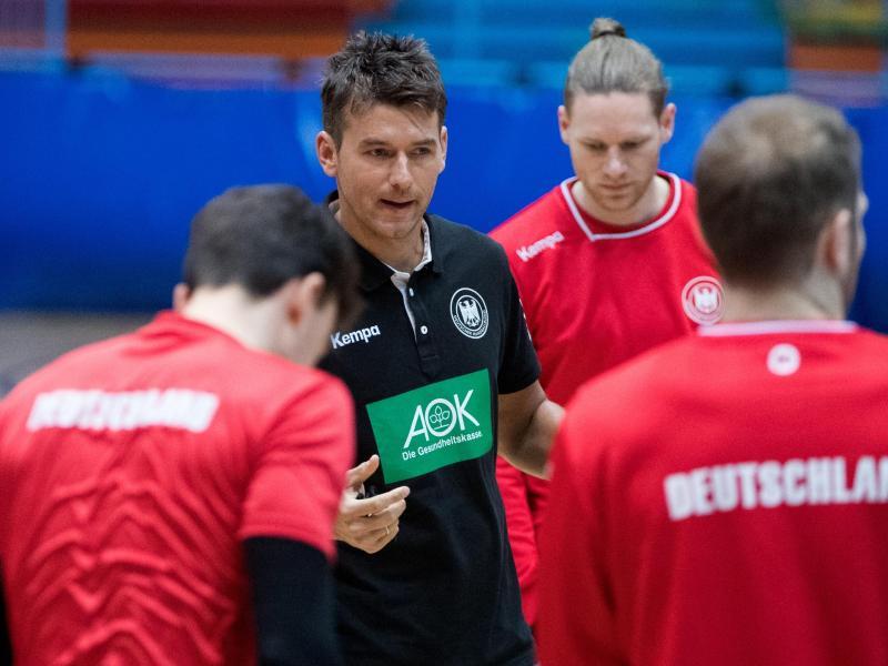 Bundestrainer Christian Prokop möchte gegen Montenegro gleich einen Sieg sehen