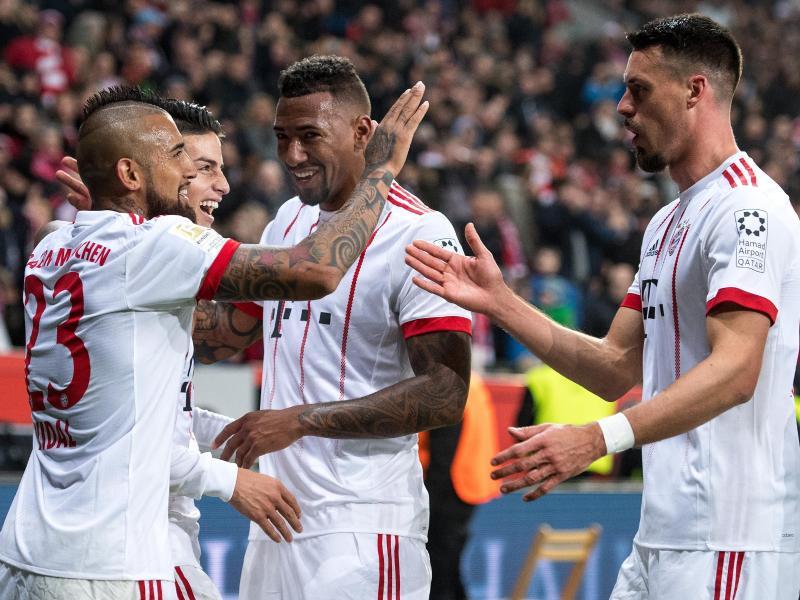Dem FC Bayern ist ein nahezu perfekter Auftakt in die Bundesliga-Rückrunde geglückt