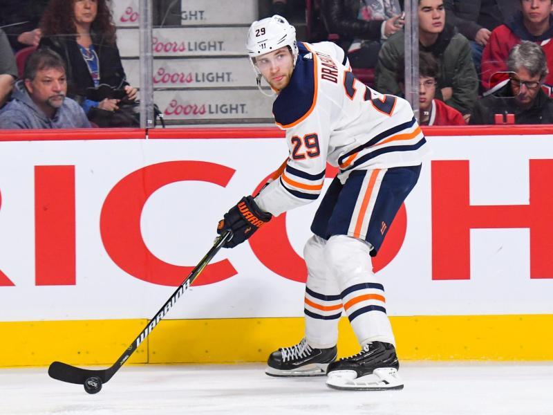 Leon Draisaitl spielt in der NHL für die Edmonton Oilers