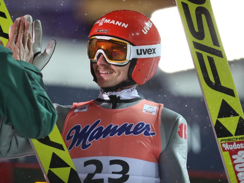 Hofft auf eine Medaille bei der Skiflug-WM