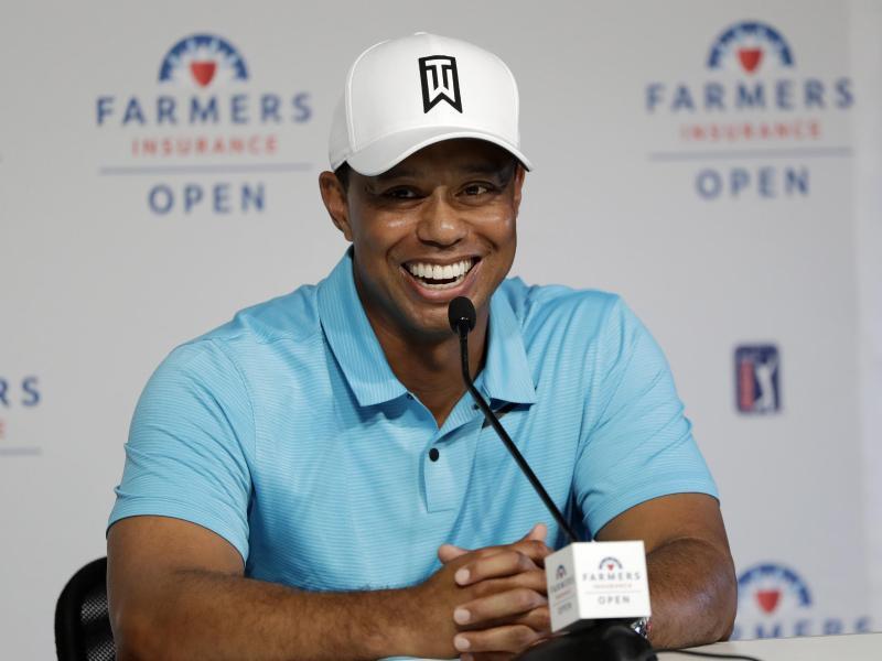 Tiger Woods geht mit keinen sehr hohen Erwartungen ins Turnier