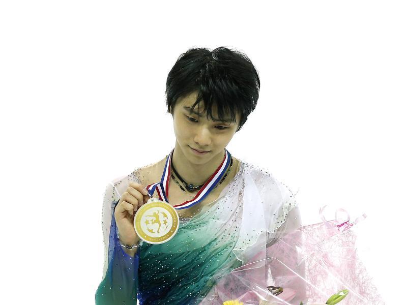 Yuzuru Hanyu ist seit seiner Bänderverletzung vom November 2017 noch nicht ganz wieder gestartet