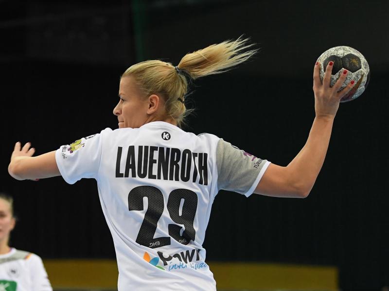 Antje Lauenroth war mit acht Treffern Bietigheims beste Werferin