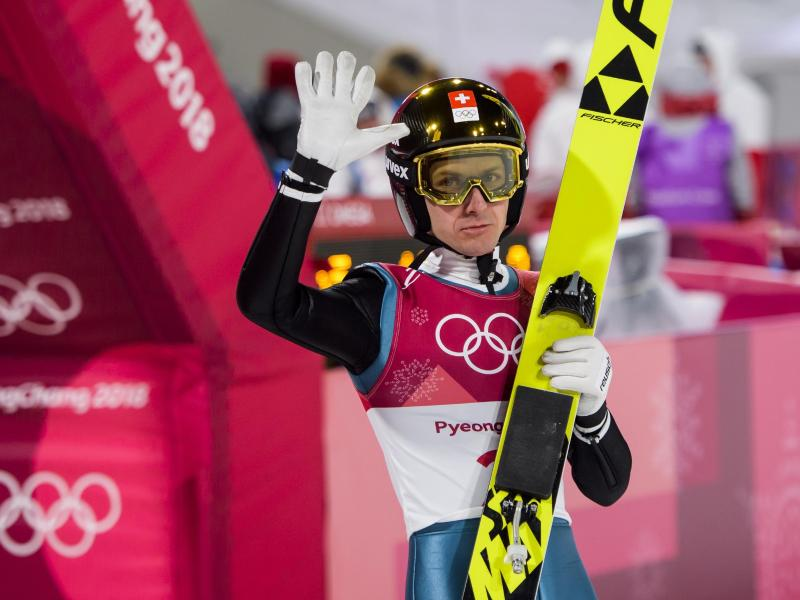 Für Simon Ammann sind es die letzten Olympischen Spiele