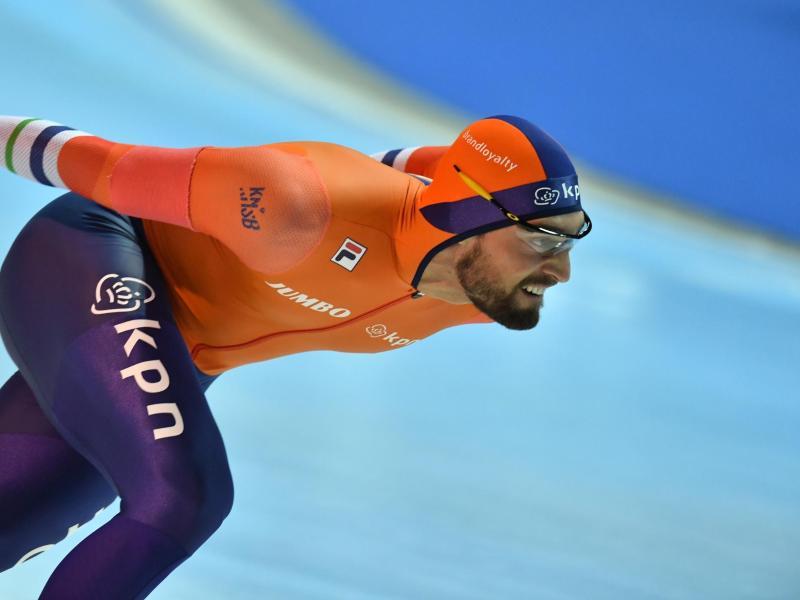 Eisschnellläufer Kjeld Nuis gewann Gold über 1500 Meter