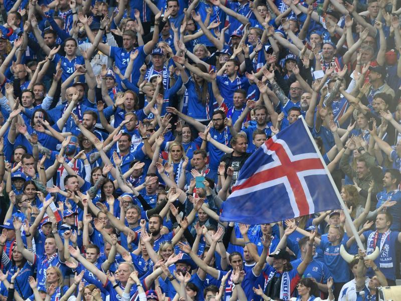 Reisefreudig: Viele Isländer wollen ihr Team zur Fußball-WM nach Russland begleiten.