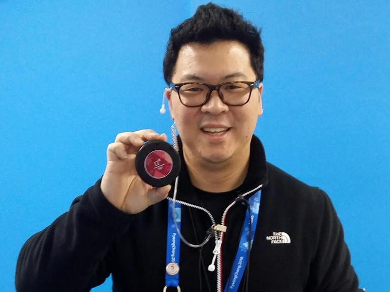 Der Krefelder Martin Hyun ist der Organisationsleiter der olympischen Eishockey-Turniere