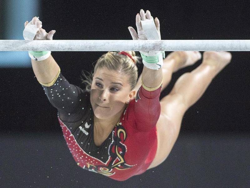Turnerin Elisabeth Seitz ist gut in die Weltcup-Saison gestartet
