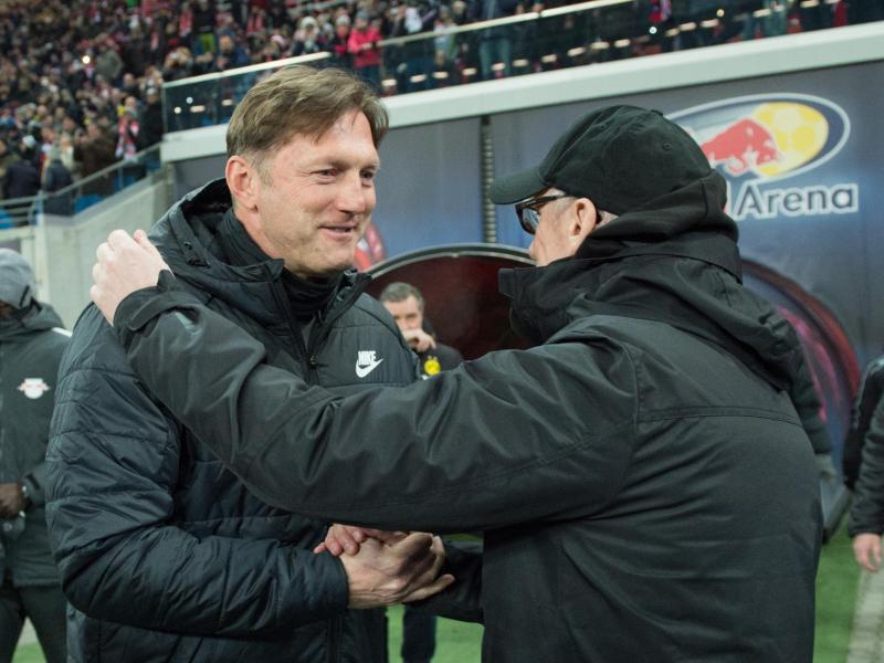 Ralph Hasenhüttl (l.) und Peter Stöger spielten früher zusammen für Austria Wien