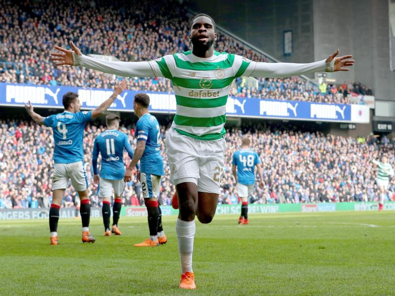 Odsonne Edouard erzielte den Siegtreffer für Celtic