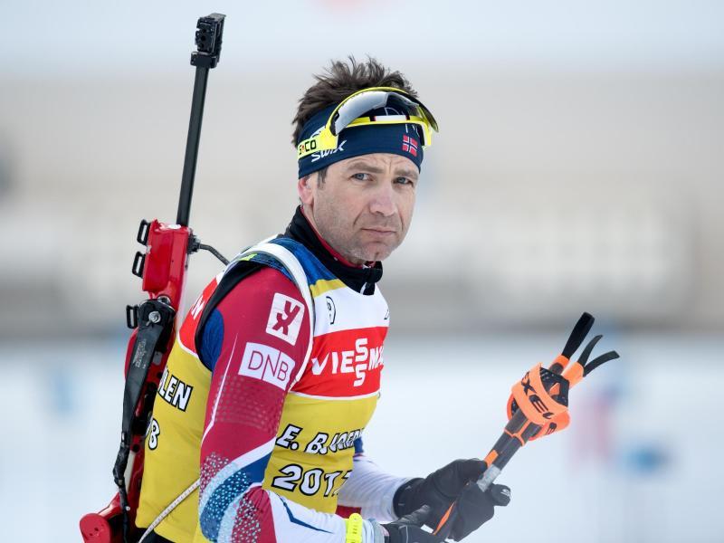 Ole Einar Björndalen ist mit 44 Jahren einer der Oldies im Wintersport
