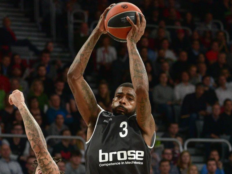 Bambergs Dorell Wright überzeugte mit seinem Team in der EuroLeague