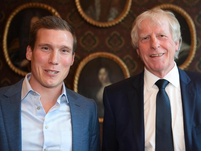 Hannes Wolf und Erich Rutemöller wurden vom DFB geehrt